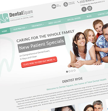 Dentist Website 06