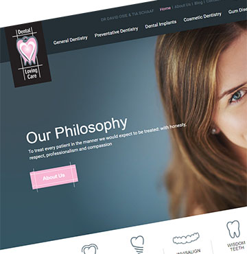 Dentist Website 01